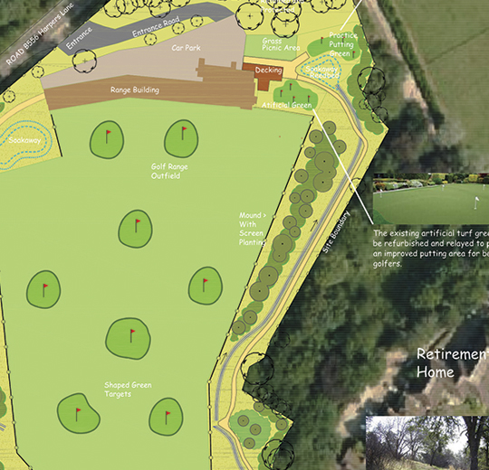 London Rock: Golf Course Development